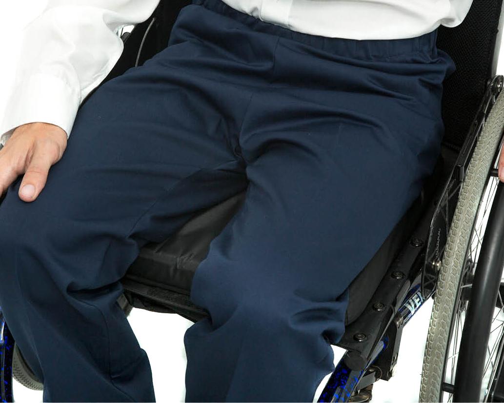 Made To Measure Elasticated Waist Wheelchair Chinos 1