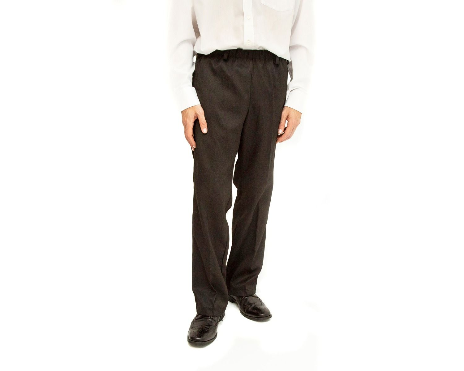 Made To Measure Elasticated Waist Smart Trousers 1