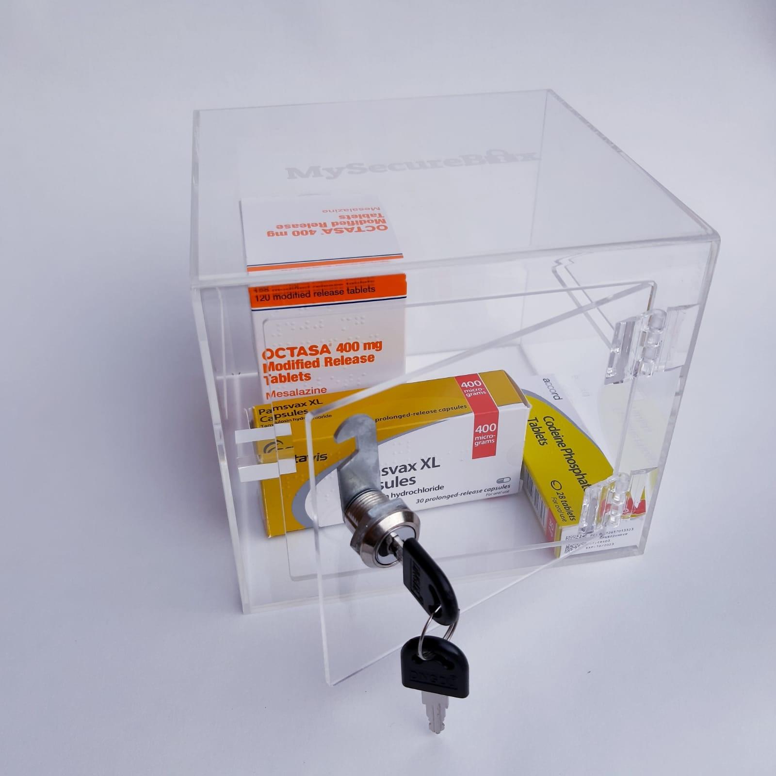 Latest product - Medication Storage Box With Lock