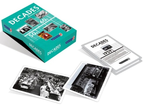 1950s And 1960s Decades Discussion Cards Pack 1