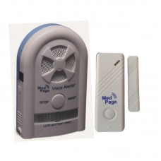 Recordable Voice Alarm Receiver With Wireless Door Contact Alarm