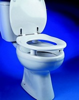 Image of Dania Raised Toilet Seats With Cover