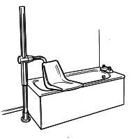 Fixed Bath Hoists Powered