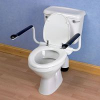 Image of Etac Supporter Toilet Arm Supports