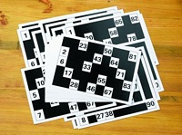Image of Large Print Bingo Cards