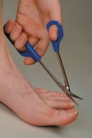 Image of Easi-grip Chiropodist Scissors