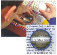 Image of Coil Visual Tracking Magnifier