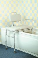 Image of Padded Bath Transfer Bench