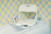 Swivel bath seats
