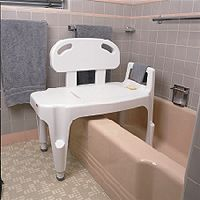 Transfer bath benches