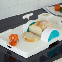Image of Food Preparation Aid With Clamp Grip & Grater