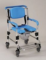 Attendant Wheeled Shower Commode Chair