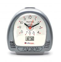 Image of Talking Alarm Clock With Hands And Digital Display