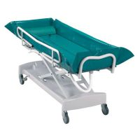Image of Harvest Healthcare Adjustable Hydraulic Bed Bath Trolley