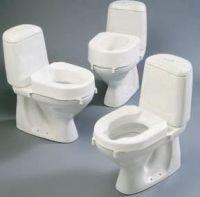 Image of Etac Hi-loo Raised Toilet Seat With Brackets