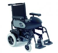 Powered Wheelchairs With Reclining Backrest Mechanism