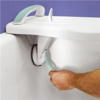 Image of Surefoot Bath-shower Board With Support Handle