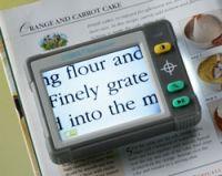 Image of Portable Colour Video Magnifier