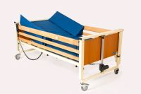 Image of Scanbed Alpha Junior Profiling Bed With Siderails