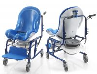 Children S Mobile Shower Commode Chairs Living Made Easy