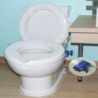 Image of Senator Plastic Raised Toilet Seat