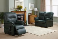 Image of Maple Single Motor Rise And Recliner Chair