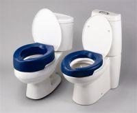 Image of Blue Foam Raised Toilet Seat