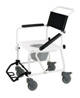 Image of Mackworth M40 Aluminium Transit Shower Commode Chair