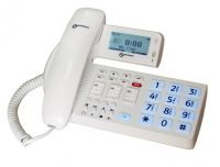 Image of Geemarc Ocean400 Hearing Aid Compatible Corded Amplified Phone