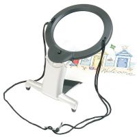 Image of Starmag Led 2x Neck Magnifier With Stand