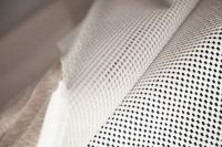 Image of Stabilizing Mesh Cot Bed Flat Sheet