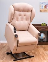 Image of Daviot Bariatric Twin Motor Tilt In Space Riser Recliner