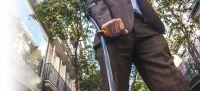 Image of Carbon Fiber Elbow Crutches