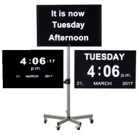 Ward Orientation Clock With Digital Time And Date