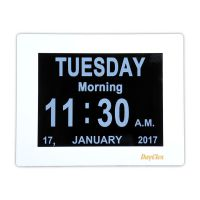 Dayclox 8 Digital Calendar Clock Type E With Day Periods