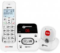 Amplidect 295 Sos Pro-amplified Cordless Telephone With Integral Answering Machine And Pendant