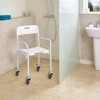 Image of Allure Folding Shower Chair