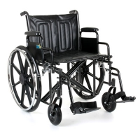 Image of Explorer Heavy Duty Self Propelled Wheelchair