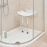 Image of Wall Mounted Shower Chair