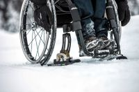 Image of Wheelblades Wheelchair Skis