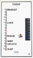 Image of Memodayplanner Whiteboard