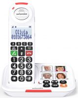 Image of Xtra 2155 Amplified Cordless Telephone With Photo Buttons