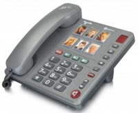 Image of Powertel 92 Big Button Photo Dial Telephone