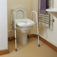 Image of Toilet Frame With Seat