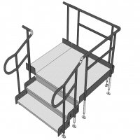 Image of Modular Steps For Ramp Systems