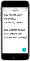 Image of Live Caption Speech To Text