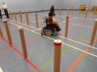 Image of Cerebral Palsy Wheelchair Slalom
