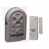 Image of Recordable Voice Alarm Receiver With Wireless Door Contact Alarm