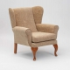 Queen Anne Chair With Webbed Back