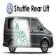 Volkswagen Transporter Shuttle Rear Hydraulic Lift
